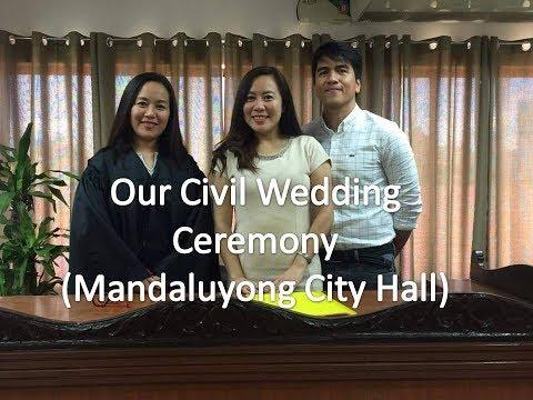 My Civil Wedding Ceremony in Mandaluyong City [2017]