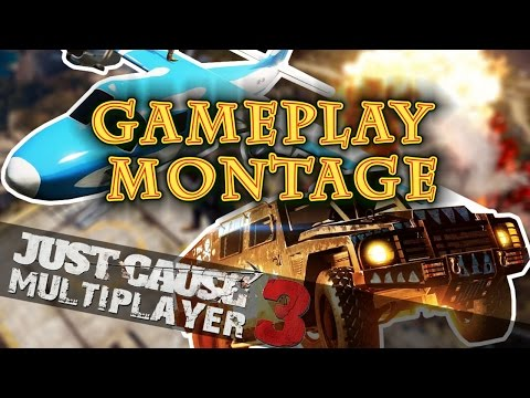 Just Cause 3 Multiplayer - Exclusive Early Alpha Gameplay Montage