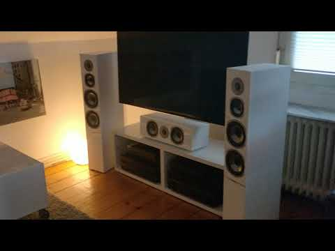 Quaral Argentum 590 Stereo Test an Yamaha RX-V781 & AX-596