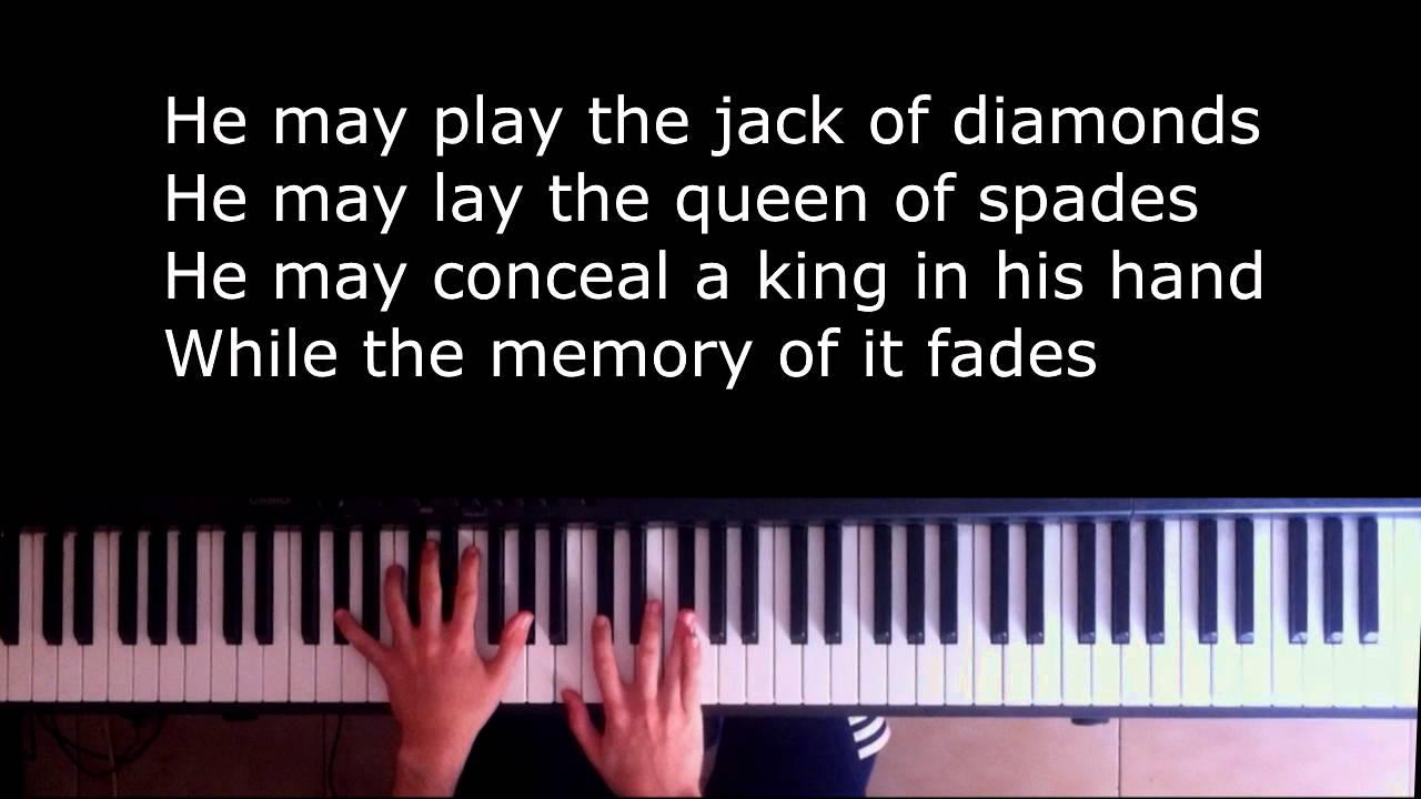 Ноты песни shape of my heart для фортепиано.