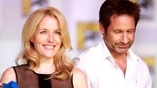 David Duchovny and Gillian Anderson Talk X-Files 3 Movie