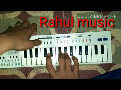 Papi de parula song on piano. Pt 20  Casio
