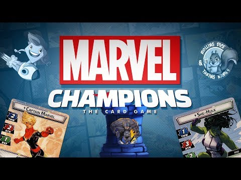 Marvel Champions Card Game Live Play-Through - With Roy & Marty
