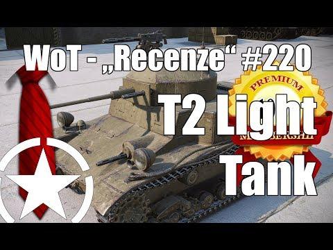 "World of Tanks T2 Light Tank (""Recenze"" #220)"