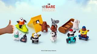 ¡We Bare Bears llegan a Happy Meal!