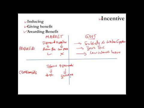 Incentives in Economics
