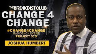 Joshua Humbert Talks Philanthropy + Donates To #Change4Change