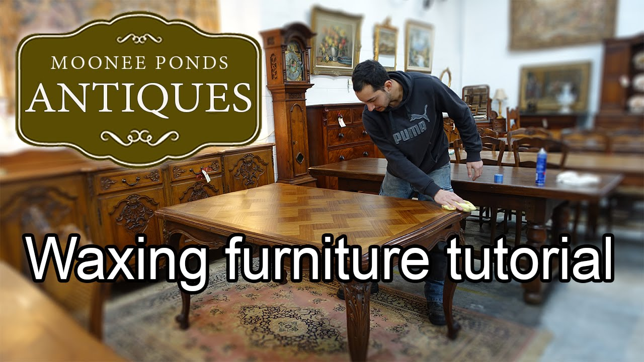 How to apply beeswax furniture polish to antique furniture to restore  lustre - Moonee Ponds Antiques - How To Apply Beeswax Furniture Polish To Antique Furniture To