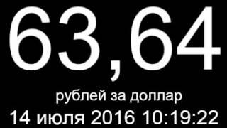 Курс доллара, евро, цена нефти 14 июля 2016 онлайн