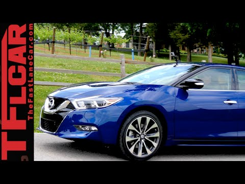 2016 Nissan Maxima First Drive Review: Sport Yes but Sports car No