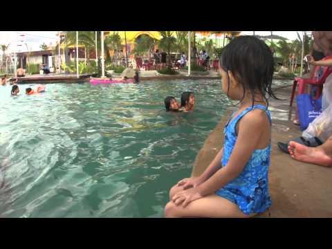 เดอะซันลำพูน สวนน้ำสวนสนุก แอ้มออนทัวร์2013