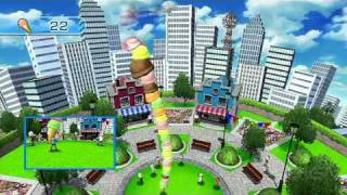 Wii Play: Motion - Cone Zone Gameplay