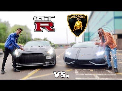 LAMBORGHINI VS. GTR WILD RACE!!!