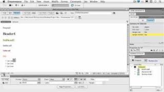 Dreamweaver CS5. Tutorial. Setting Up Dreamweaver (1 of 2).wmv