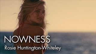 Rosie Huntington-Whiteley stars in a sun-kissed fashion short from Guy Aroch