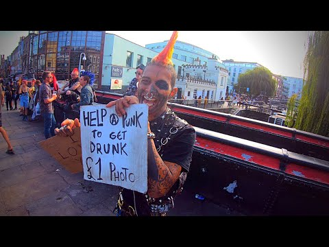 London walk, Help a Punk - Camden Town