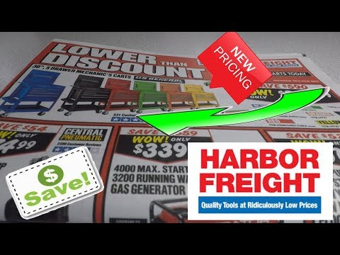 Lower Than Discount Harbor Freight Sale!!