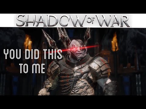 BULLYING AN ORC TO SUBMISSION   Middle Earth: Shadow of War Gameplay  