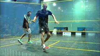 WSF World Squash Junior Championships 2013 , Semi Final Men, Hammamy - Fallows