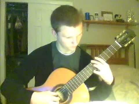 Erik Satie- Gymnopedie No. 1 on classical guitar by Josh Fleming