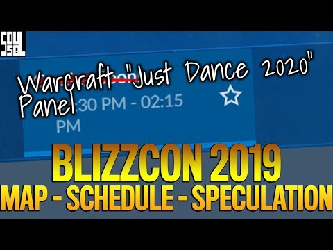The Blizzcon Schedule, What Is FREE To Watch And What To Expect