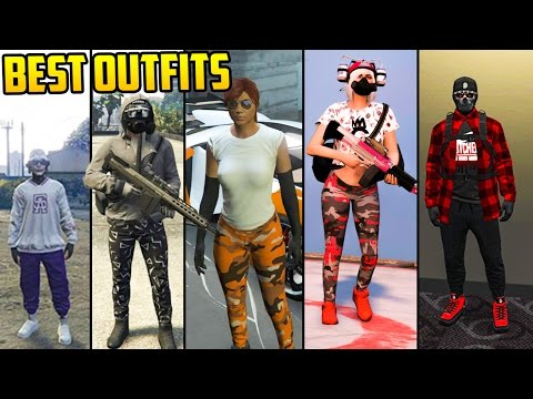 GTA Online FASHION FRIDAY! 34 NEW OUTFITS! (Asiimov Grey Tactical Baller u0026 MORE) - YouTube