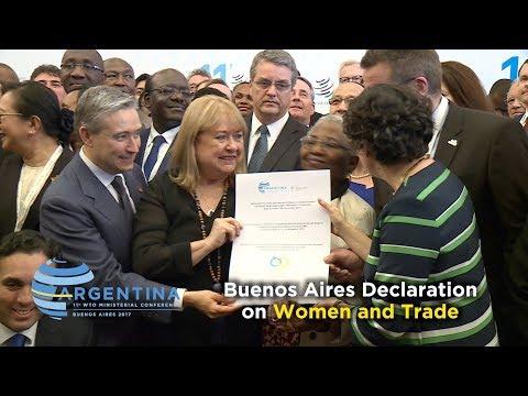 MC11: Declaration on women and trade