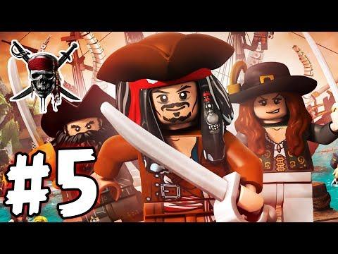 LEGO Pirates of the Caribbean - Episode 05 - The Curse (HD Gameplay Walkthrough)