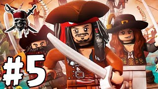 LEGO Pirates of the Caribbean - Episode 05 - The Curse (HD Gameplay Walkthrough)