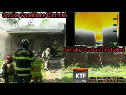 KTFBurns Reduced Staffing Smoke Curtain Demo