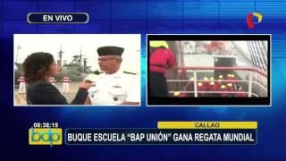 Reportaje Buenos Días Perú - B.A.P. Unión gana Regata Internacional