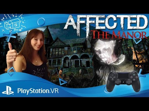 Affected The Manor / Playstation VR ._. Nessi Let's Play / Deutsch / German