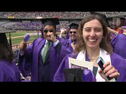 2016 NYU Commencement Full Program