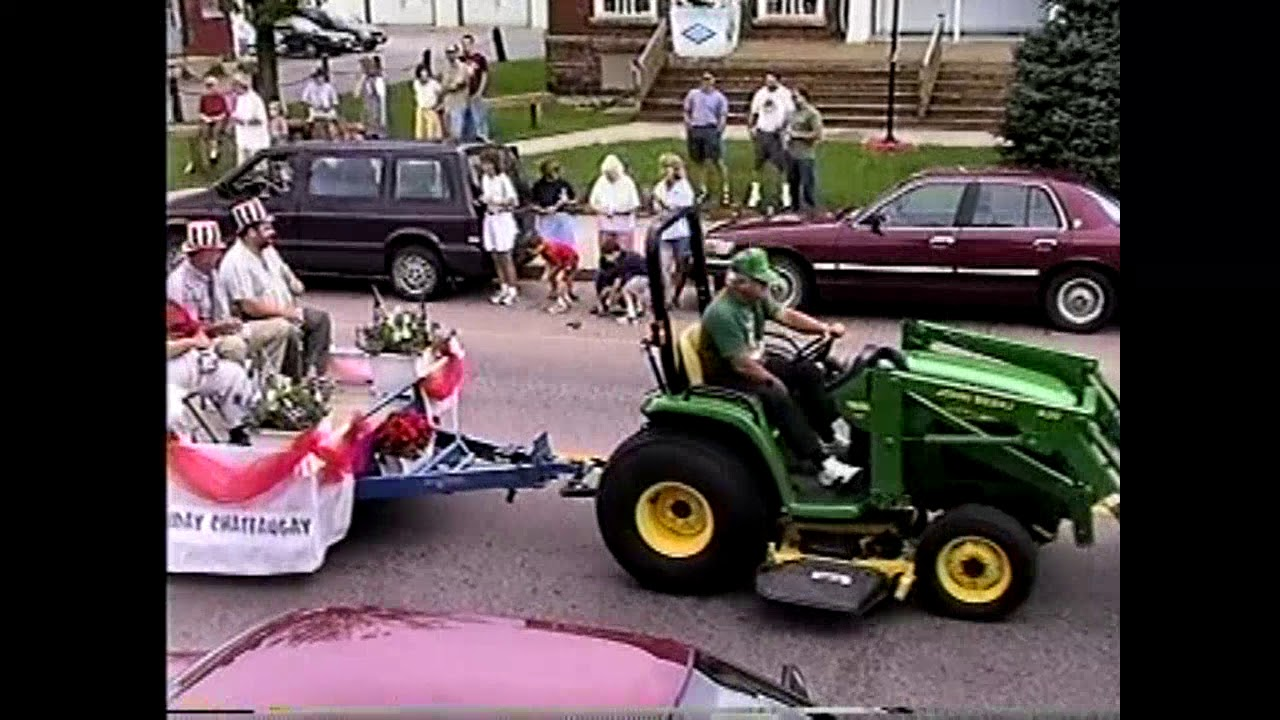 Chateaugay 200th Anniversary Parade  7-25-99