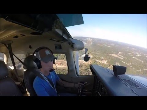 First Solo Flight - Cessna 172/S