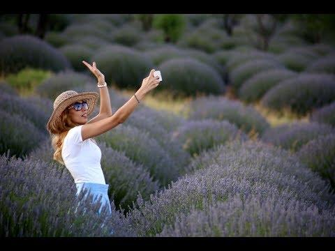 Lavender fields in Isparta - Lavanta kokulu köy Kuyucak Isparta