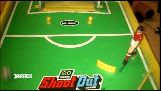 Electronic Soccer Shoot Out Brand Games 1991 Thumbnail