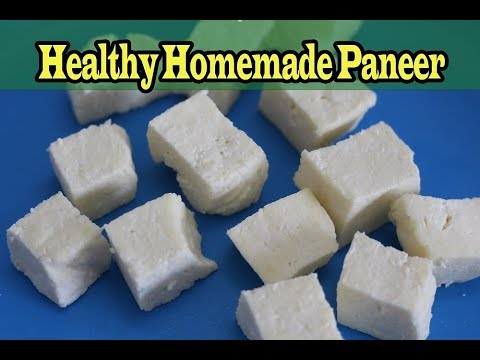 How to make paneer at home using lemon