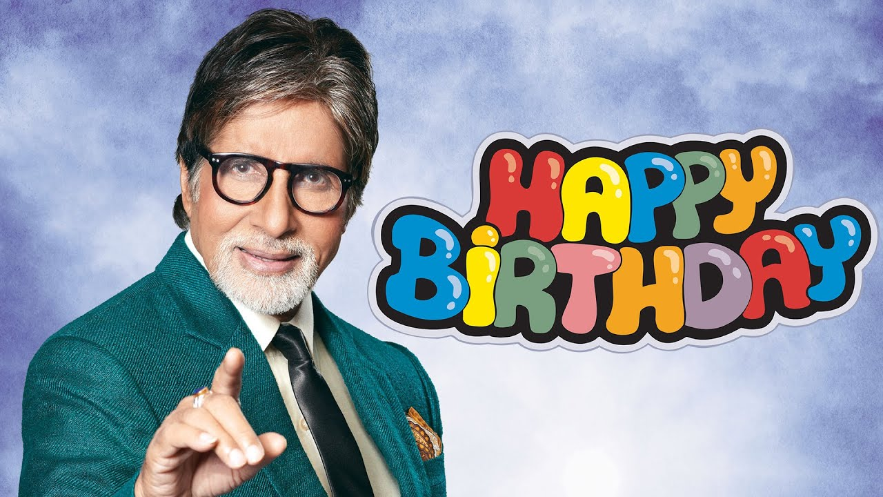 Image result for amitabh bacchan birthday
