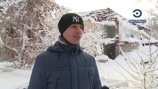 В Пензе дети с риском для жизни играют в заброшенном доме