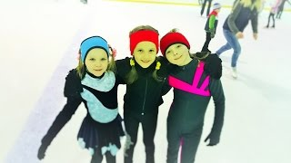 Видео с моей тренировки по фигурному катанию! figure skating(Я очень люблю фигурное катание! В этому году я поступила в школу фигурного катания в нашем городе. Это видео..., 2016-04-13T18:36:17.000Z)