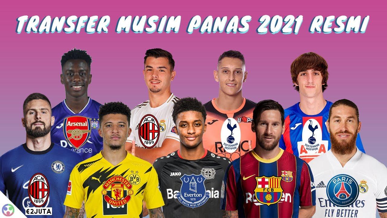 Update Transfer Pemain Musim Panas 2021 Resmi Terbaru - Bryan Gil Gabung Tottenham, Sancho ke MU