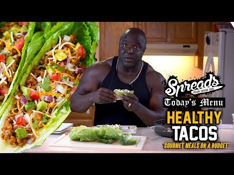 If you're on a budget, you have to try these Lettuce Wrapped Tacos – Spreads 2.14