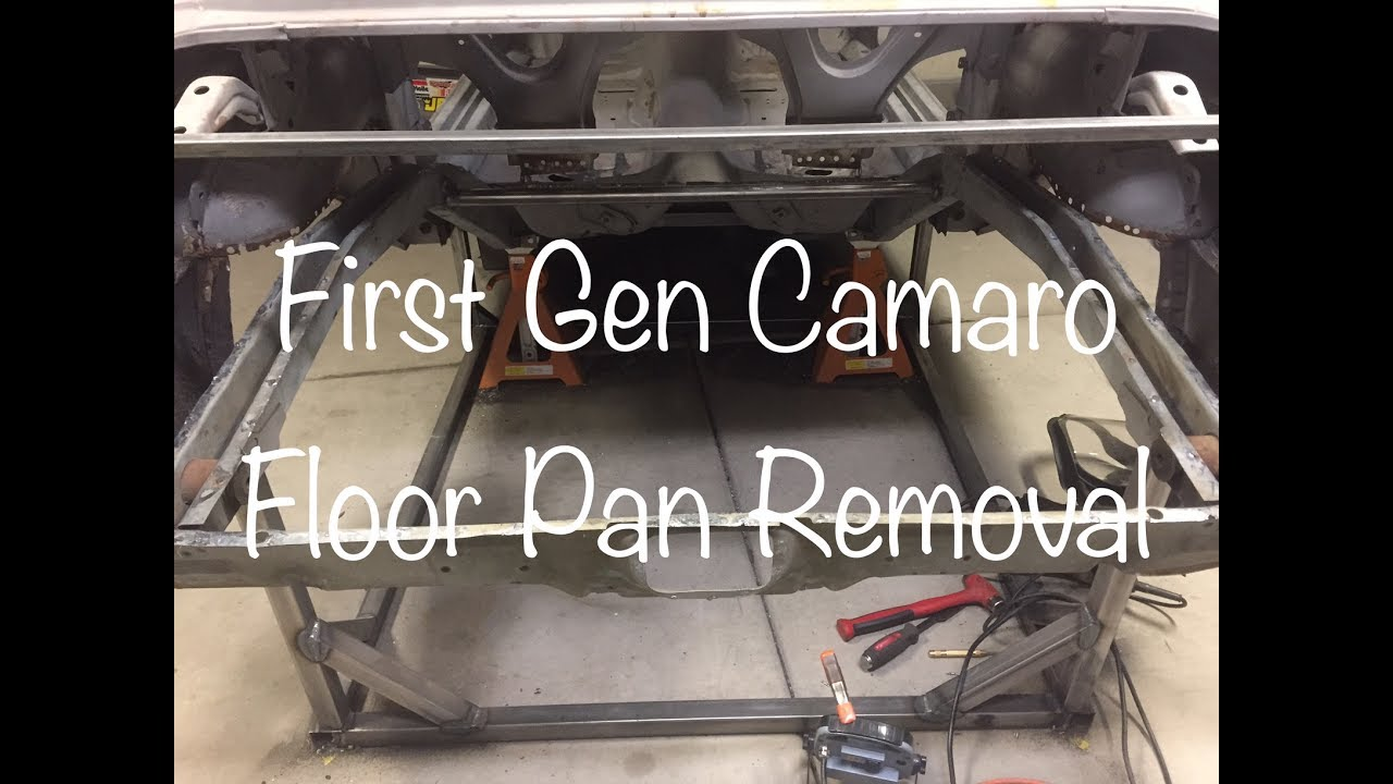 Floor Pan Removal On First Gen Camaro Youtube