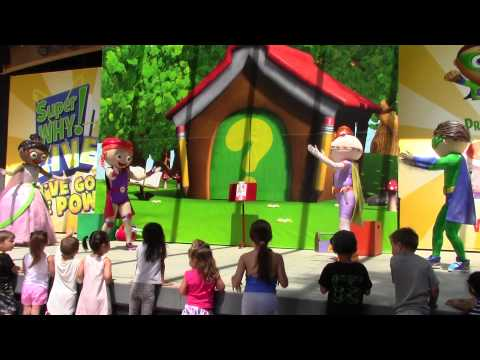 """SUPER WHY LIVE! """"HIP HIP HURRAY!""""  HD QUALITY - AUGUST 15, 2015 AT GILROY GARDENS"""