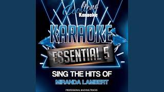 Mama's Broken Heart (Originally Performed by Miranda Lambert [Karaoke Version])