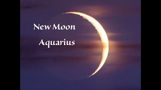 New Moon in Aquarius February 8,  2016 Be Brave Take Some Risks