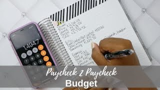 PAYCHECK TO PAYCHECK BUDGET! TIME TO MAKE ANOTHER DEBT PAYMENT!