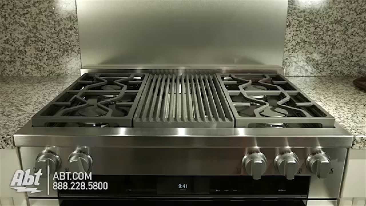 Miele ProStyle Stainless Steel Dual Fuel Gas Range HR DF GR - Abt gas ranges