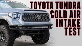 homepage tile video photo for TruPower by STILLEN Toyota Tundra 5.7L Cold Air Intake | Air Temperature Challenge